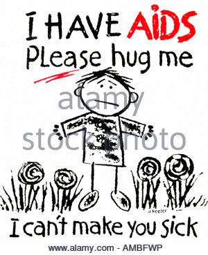South Africa. Hiv Aids Awareness Campaign In Soweto Stock Photo.