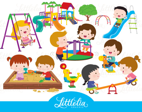 Children clipart playground, Children playground Transparent.