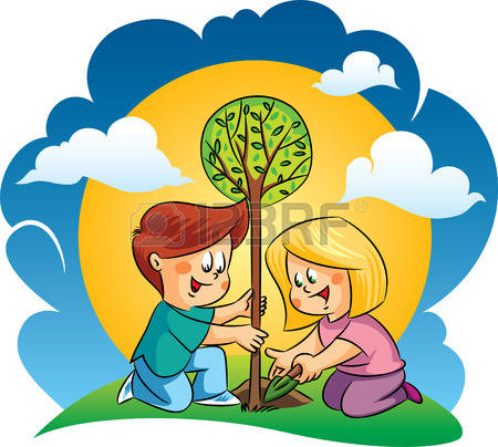 307 Children Planting Cliparts, Stock Vector And Royalty Free.