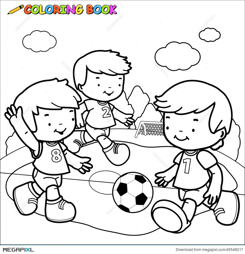 Children Playing Clipart Black And White (92+ images in Collection.