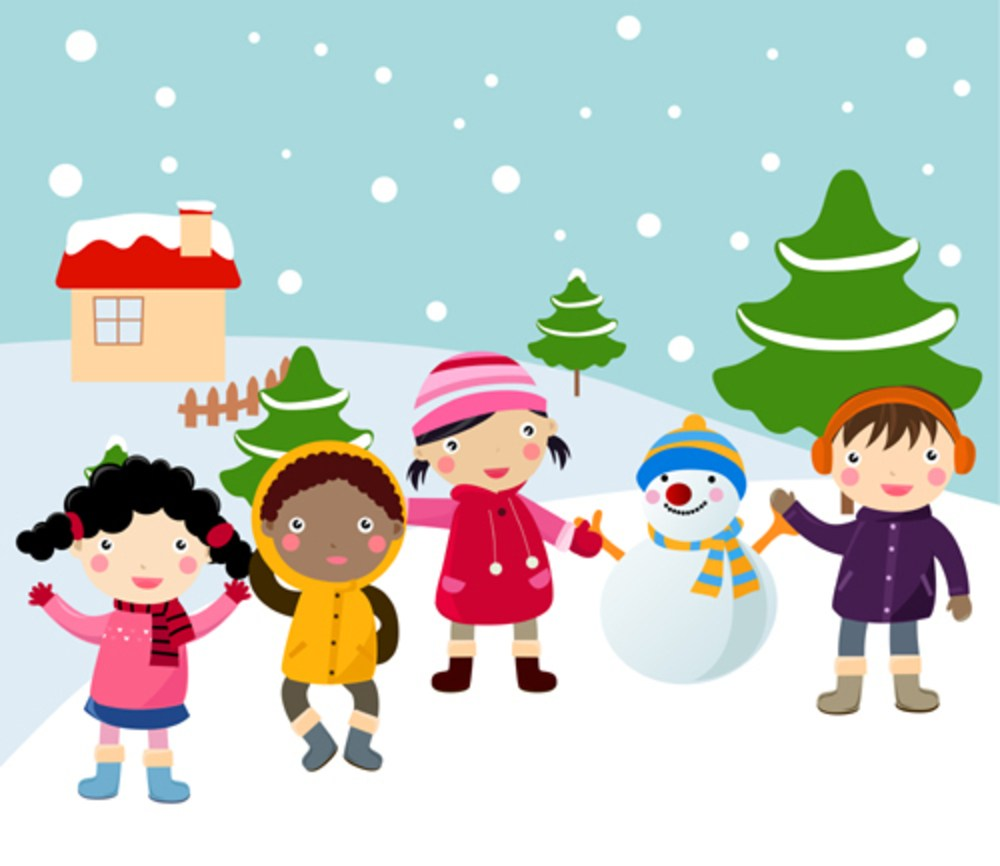 Children playing in snow clipart 4 » Clipart Portal.