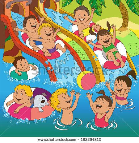 Water Play Stock Images, Royalty.