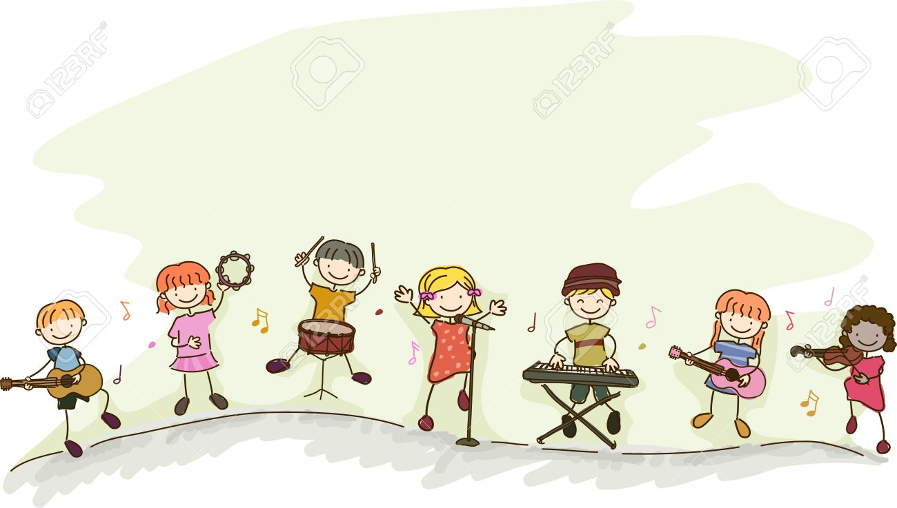 musical instruments for kids clipart - Clipground