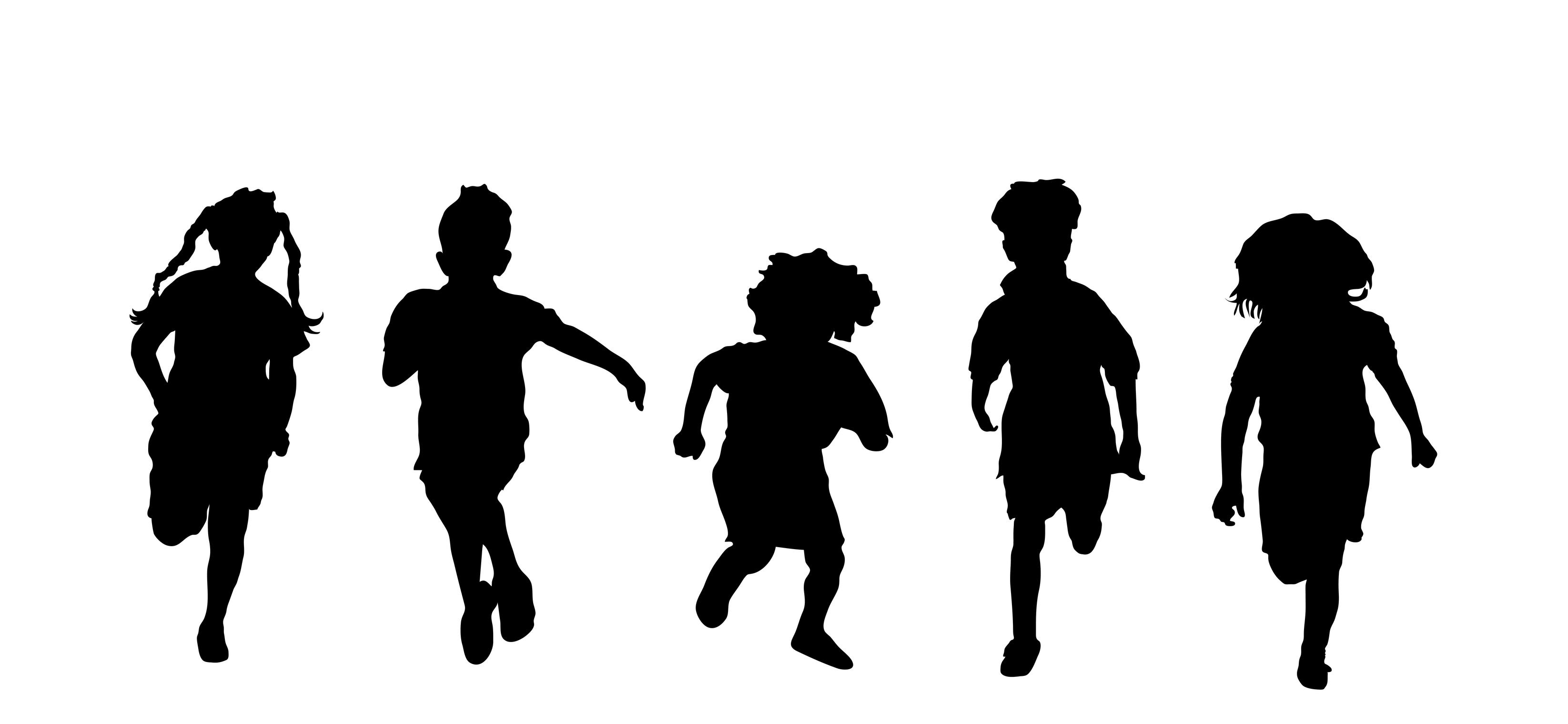 Free Children Silhouette Clipart, Download Free Clip Art.
