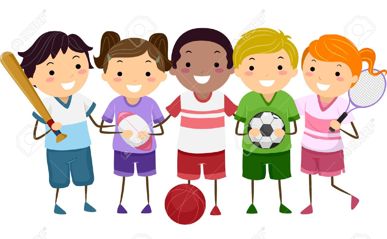 Kids playing sports clipart 2 » Clipart Station.