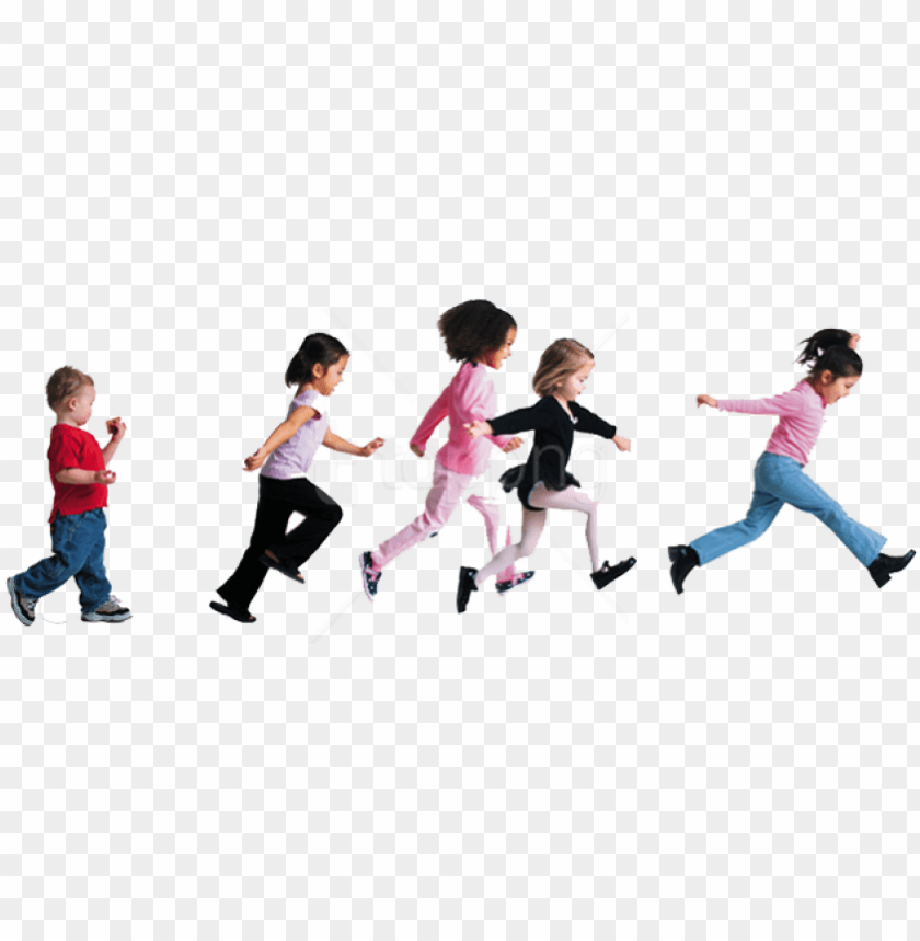 free png download child group play png images background.
