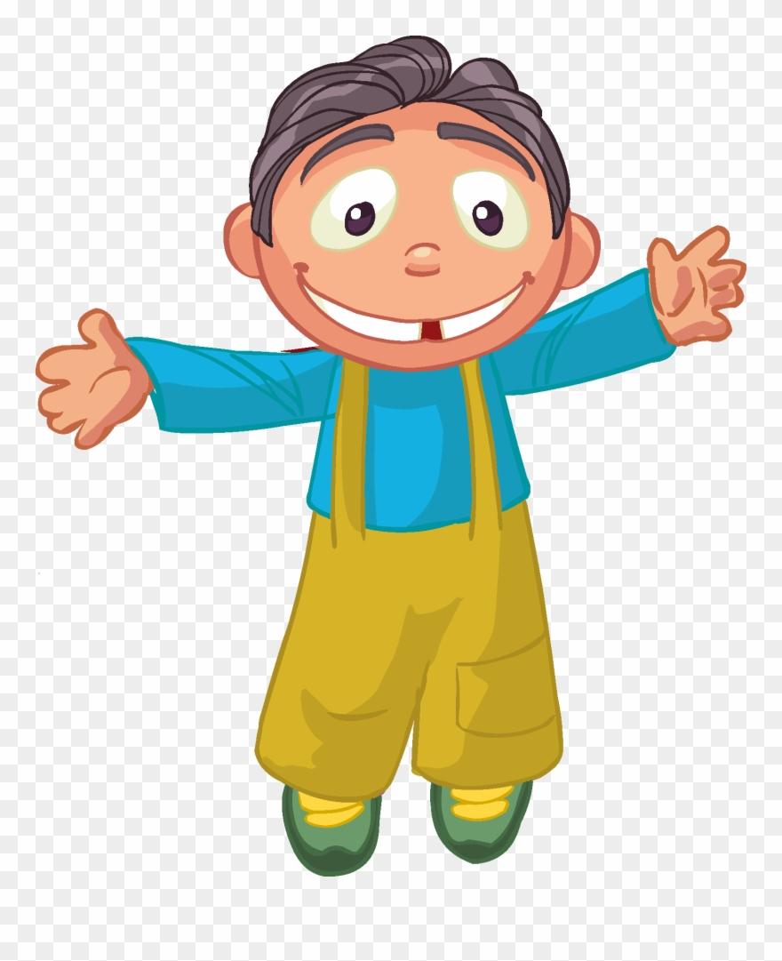 Cartoon Children, Kids, People 10 Png.
