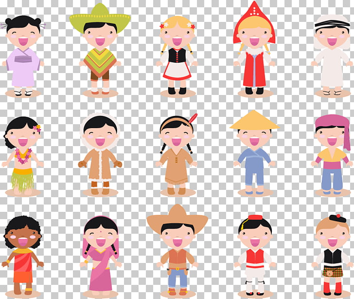 Child Race , children of different races PNG clipart.