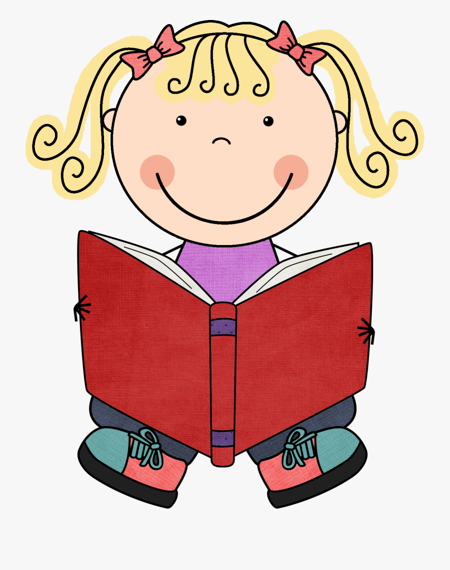Kid Reading Clipart , Free Transparent Clipart.