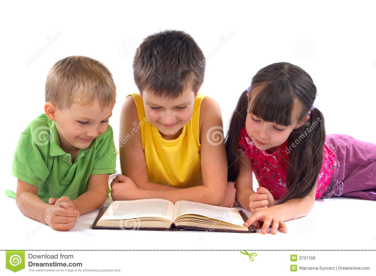 Child Reading Book Stock Photos, Images, & Pictures.