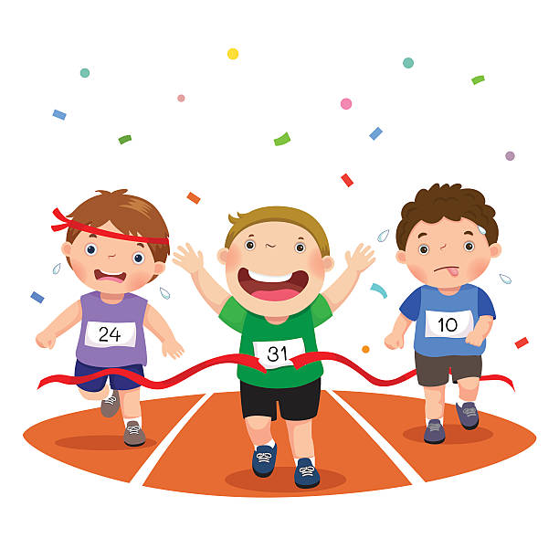 Top 60 Kids Running Clip Art, Vector Graphics and Illustrations.