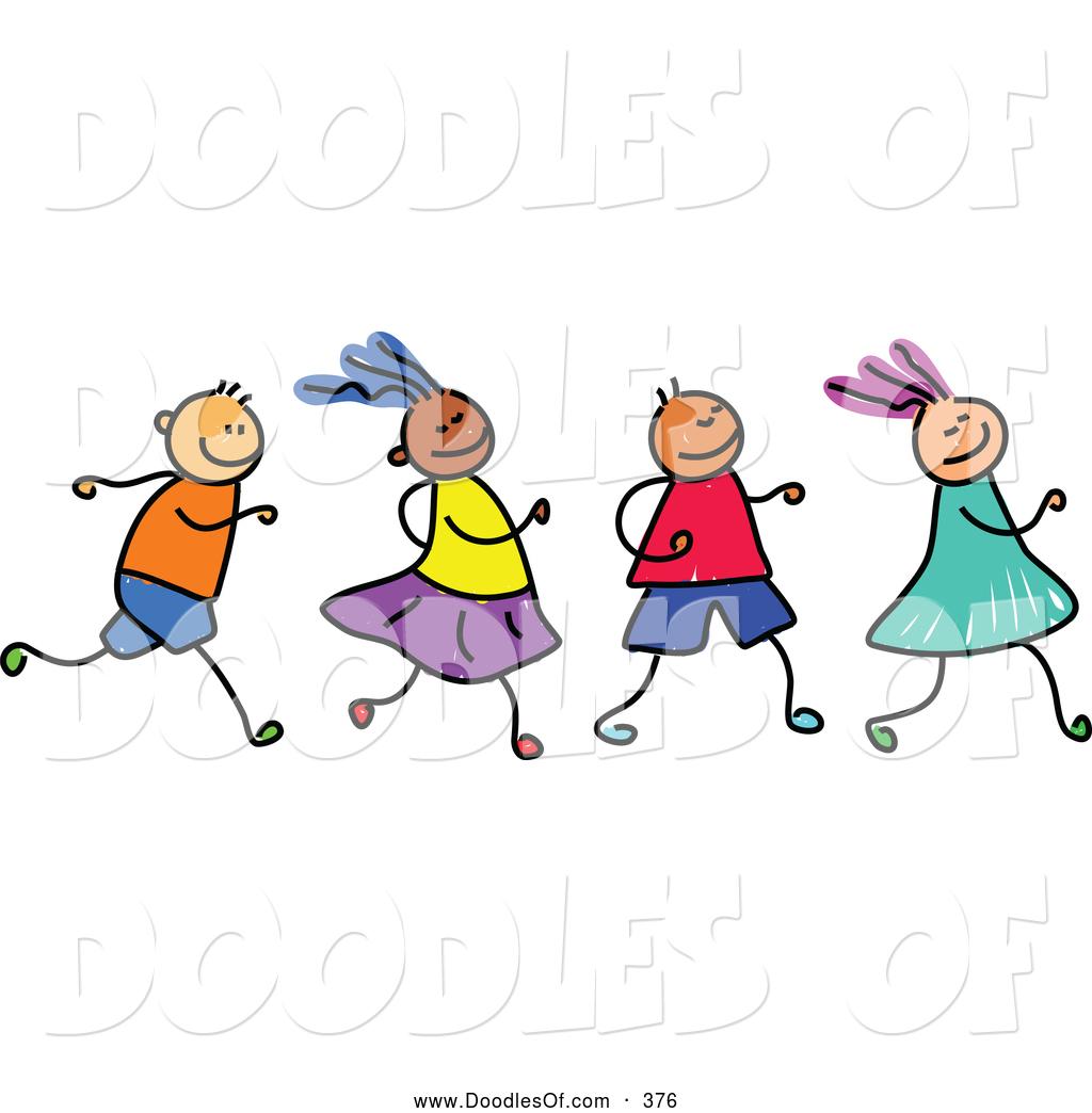 Children Running Clipart 18.