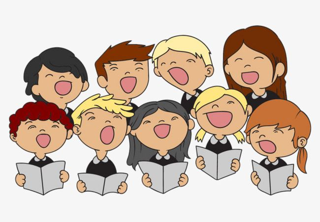 Illustration Children\'s Choir PNG, Clipart, Cartoon.