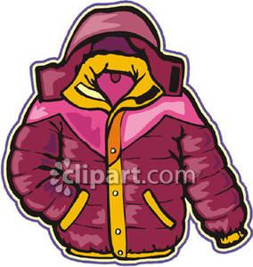 Childrens Coat Clipart.