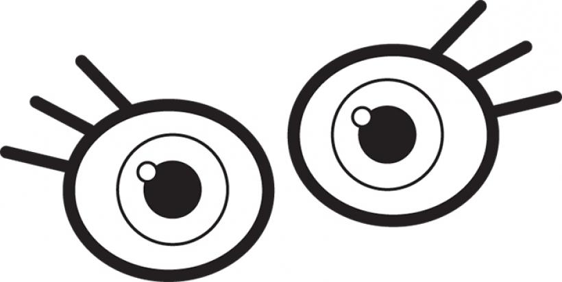 Eyes clipart children\'s, Eyes children\'s Transparent FREE.