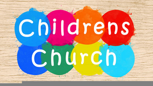 Childrens Ministry Clipart.