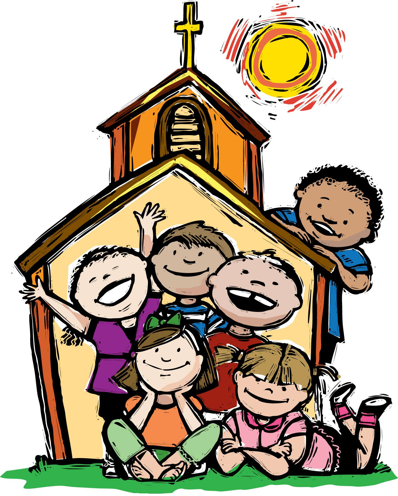 Children\'s Church Clipart Sunday School.