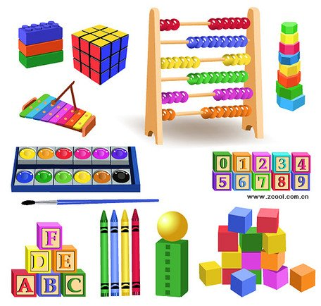 Children\'s educational toys Clipart Picture Free Download.