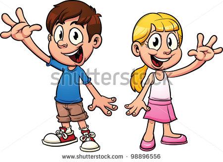Showing post & media for Cartoon boy saying goodbye.