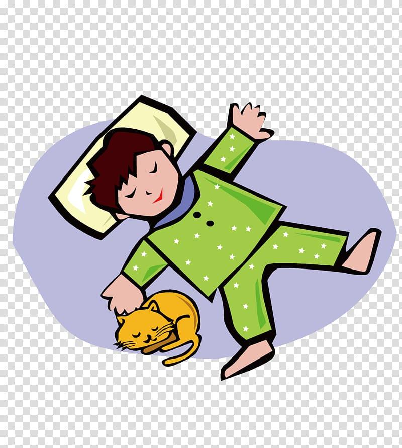 Child Sleep , Sleeping baby transparent background PNG.