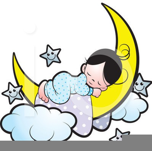 Clipart Of A Child Sleeping.