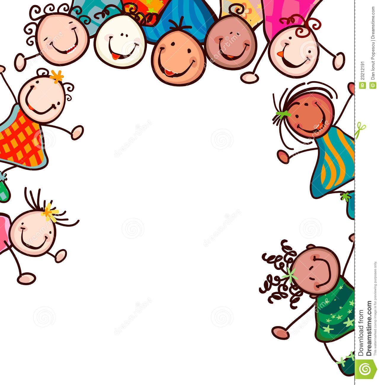 Kids Smiling Stock Image.