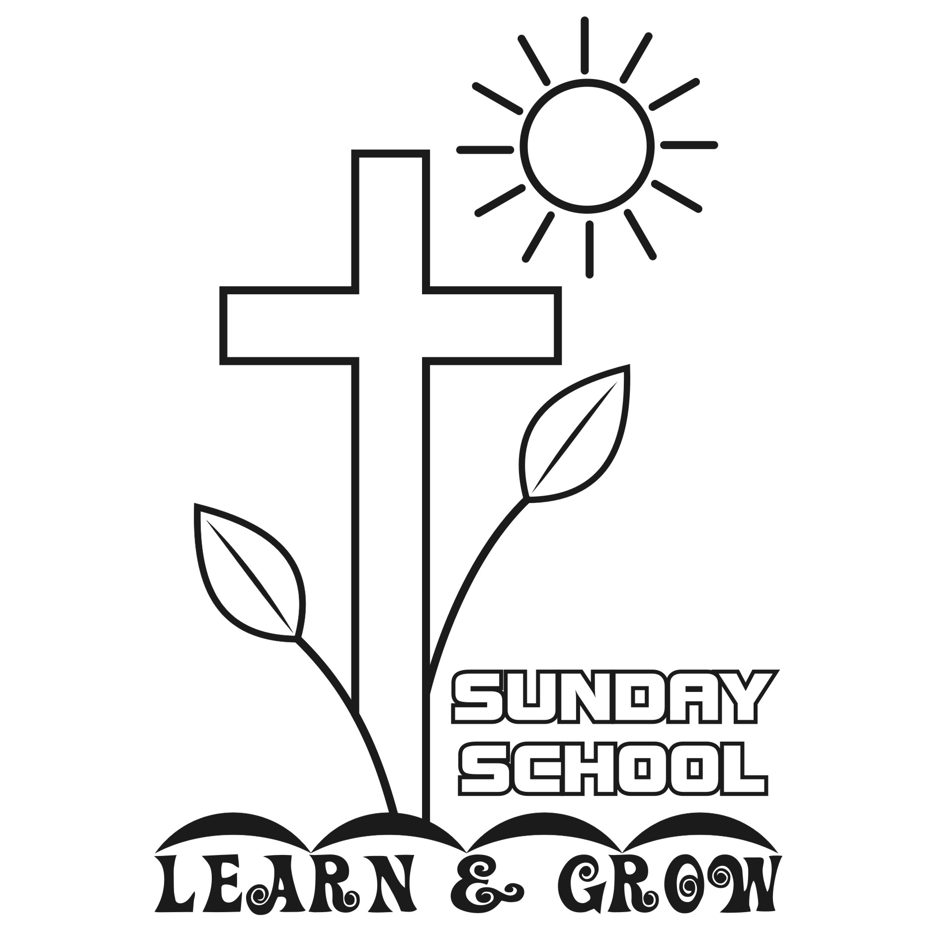 Clipart Of Children Sunday School.