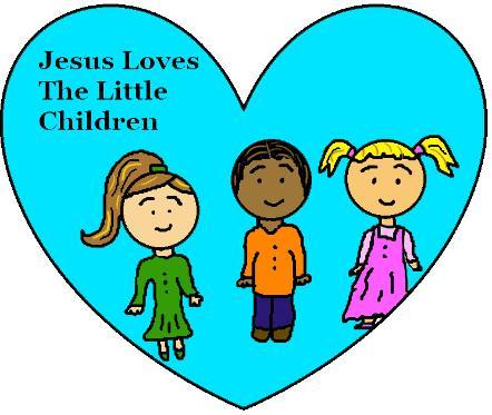 Jesus Loves Children Sunday School Lesson.
