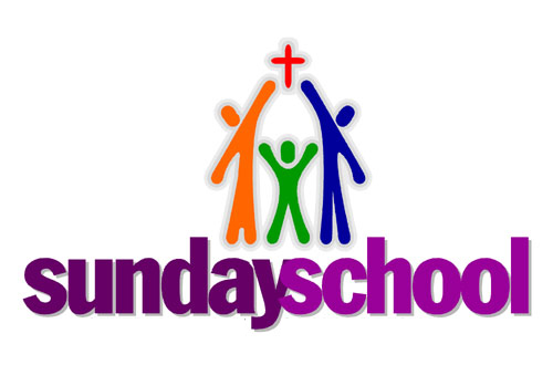 Children Sunday School Volunteer Clipart.