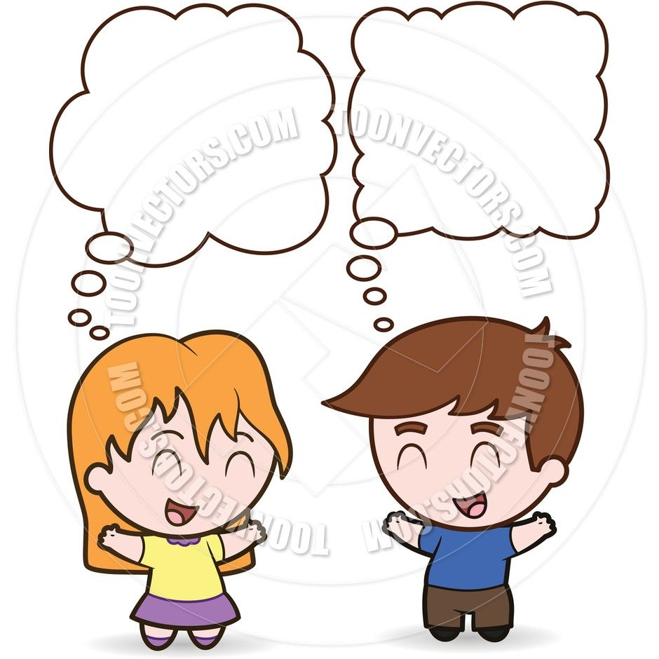 Image result for clipart kids talking.