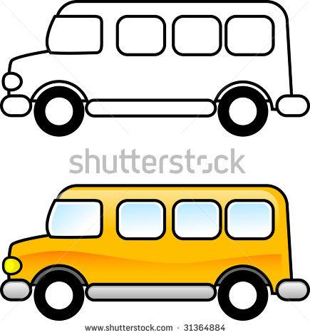 Van Vehicle Clipart.