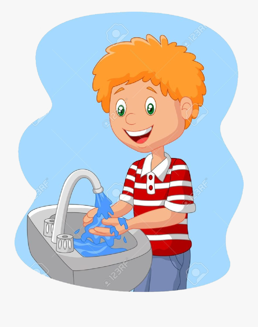Washing Hands Child Clipart Transparent Png.