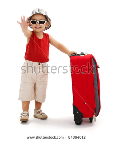Waving Bye Stock Images, Royalty.