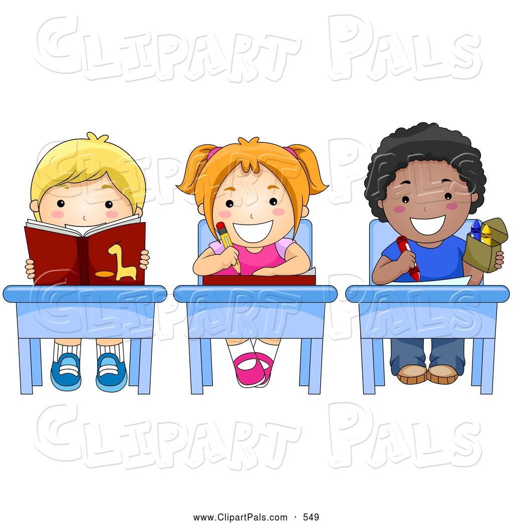Work With Children Clipart.