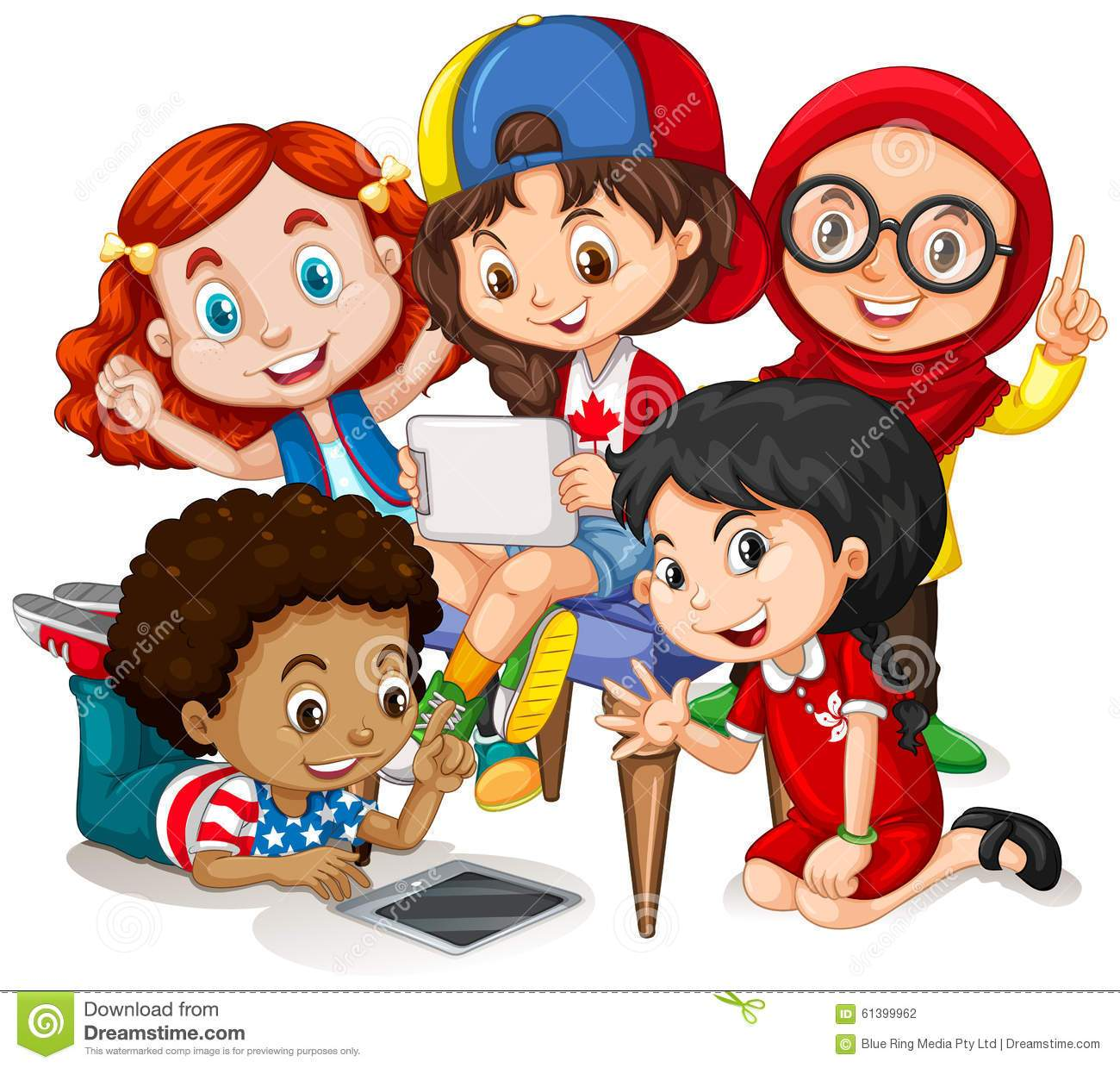 Children working together clipart 3 » Clipart Portal.