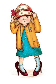 Childrens Author Dress Up Clipart.