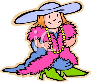 Childrens Dress Up Clipart.
