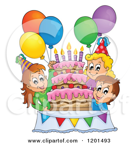 Children's birthday clipart #9