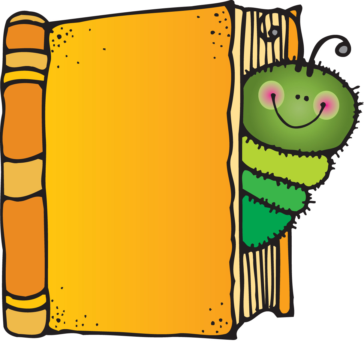 Image of Childrens Book Clipart #10170, Book Club Clip Art.