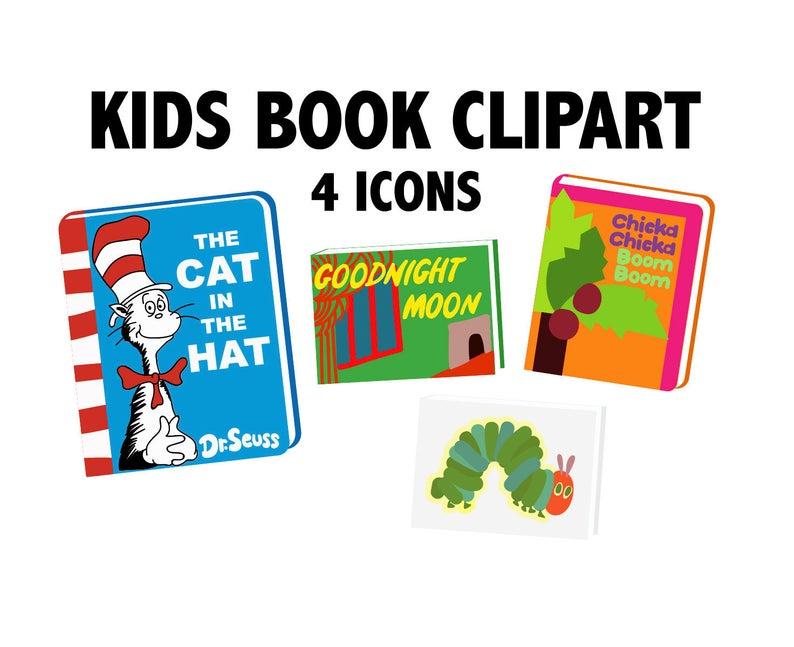 KIDS BOOKS CLIPART.