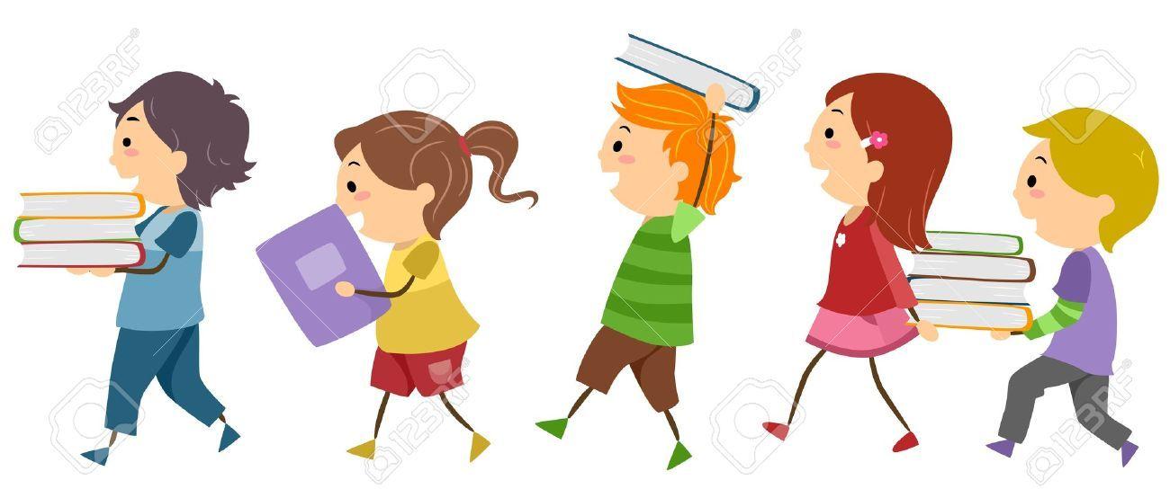 Kids Books Clipart Clipart Children.