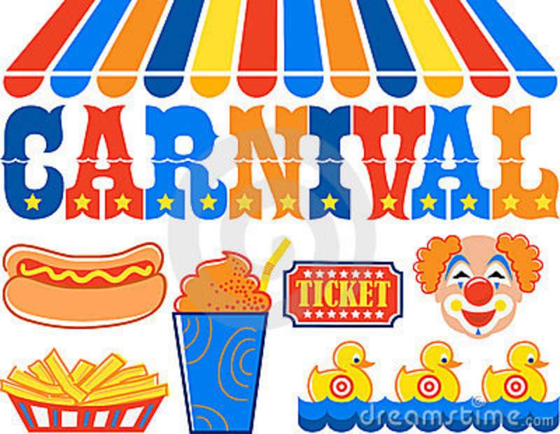 Clipart for kids carnival.