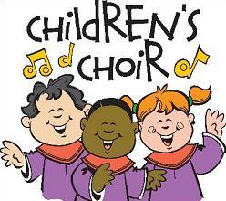 Free Church Choir Clipart.