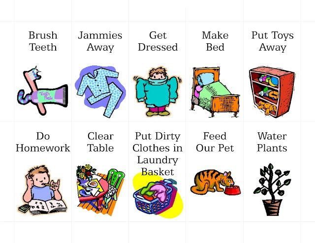 Pix For > Girl Chores Clipart.