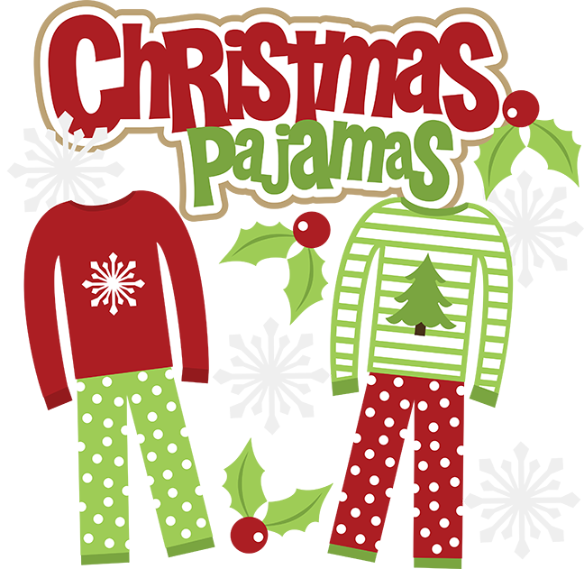Childrens Christmas Day Party Clipart.