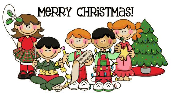 Christmas clip art children's.
