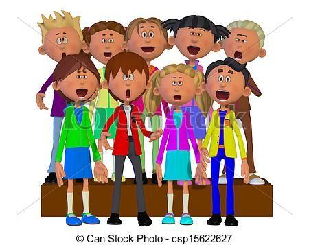 Chorus Clipart and Stock Illustrations. 416 Chorus vector EPS.