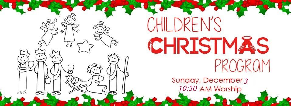 Children's Christmas Program @ First United Methodist Church.