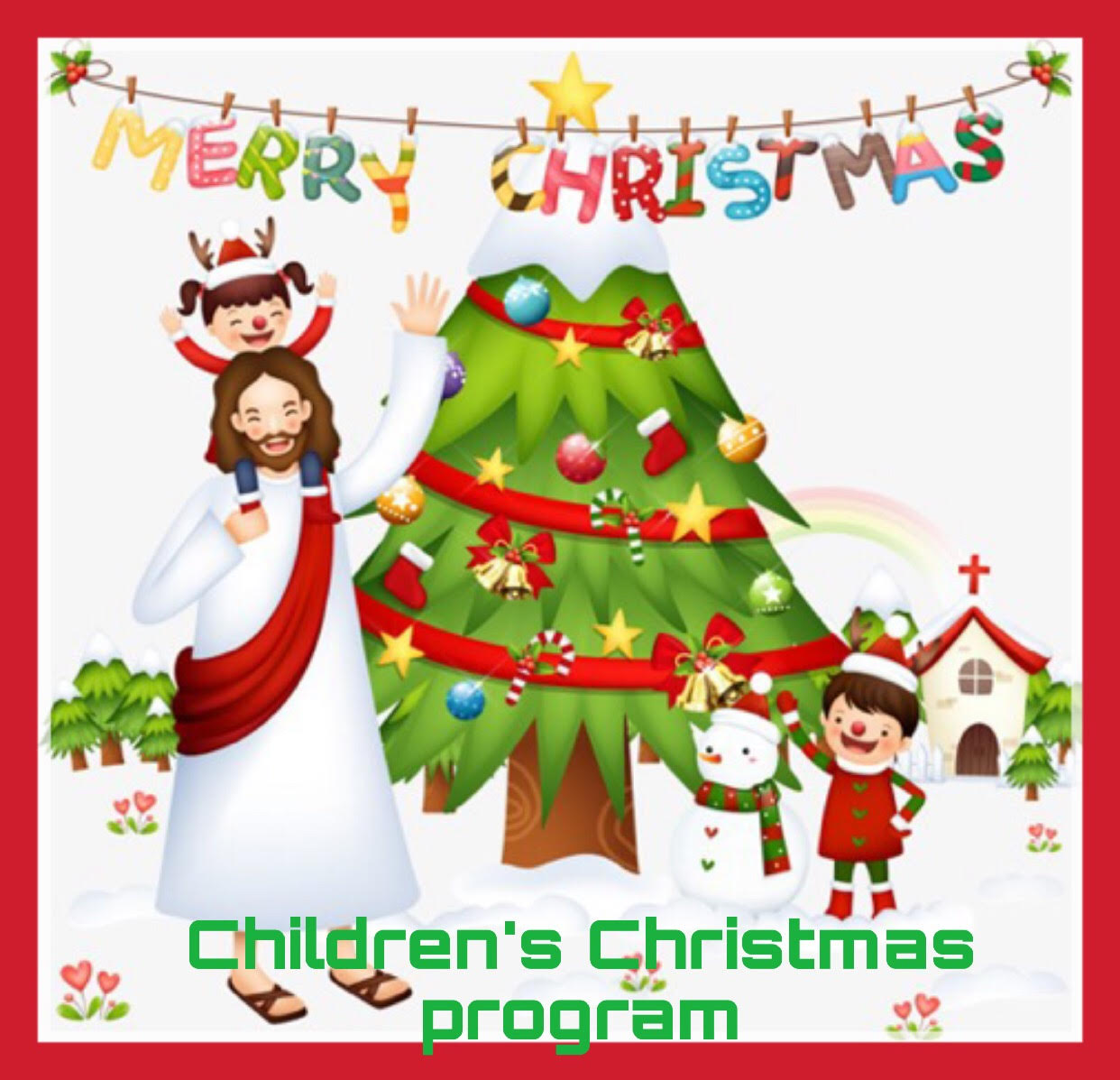 2018 Children's Christmas Program :: Calvary Lutheran Church.