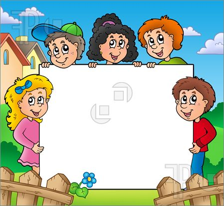 Clipart Borders And Frames For Kids.